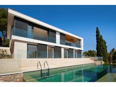 Single Family Home for sales at Modern Villa with Views in Costa de la Calma  Santa Ponsa, Mallorca 07181 Spain