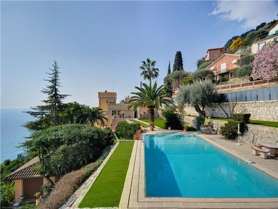 Single Family Home for sales at Charming castle set in beautiful gardens with wond  Roquebrune Cap Martin, Provence-Alpes-Cote D'Azur 06190 France