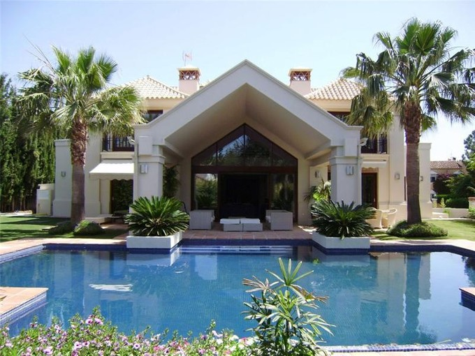 Single Family Home for sales at A superb family home in the of the golf valley  Marbella, Costa Del Sol 29660 Spain