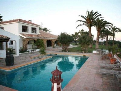 Fattoria / ranch / campagna for sales at Finca with horses, stables, paddock, and tennis co   Estepona, Costa Del Sol 29691 Spagna