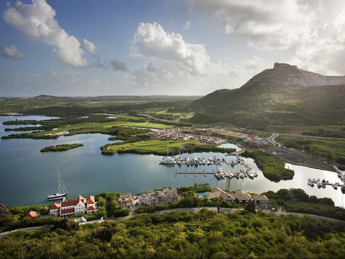Land for sales at Terrace Estate 8  Jan Thiel Area, Cities In Curacao 00000 Curacao