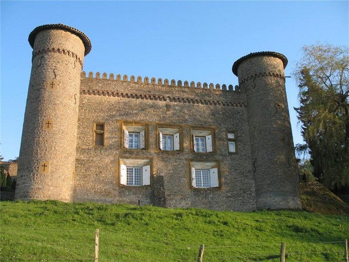 Otros residenciales for sales at AT THE TOP OF A HILL,  CASTLE OF THE XIX° CENTURY  Lyon, Ródano-Alpes 69260 Francia