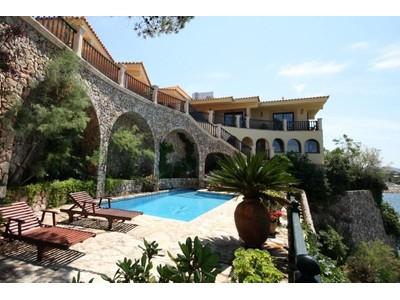 Single Family Home for sales at Frontline Villa with sea access in Bon Aire  Alcudia, Mallorca 07410 Spain