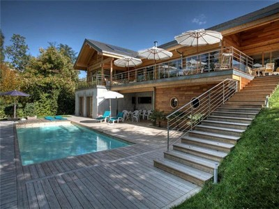 Single Family Home for sales at Stunning wood-framed villa  Other Rhone-Alpes, Rhone-Alpes 73100 France