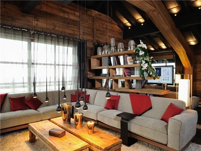 Maison unifamiliale for sales at Chalet Marine Courchevel, Rhone-Alpes 73120 France