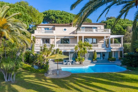 Single Family Home For At Beautiful Villa With Panoramic Sea View And Direct Access To