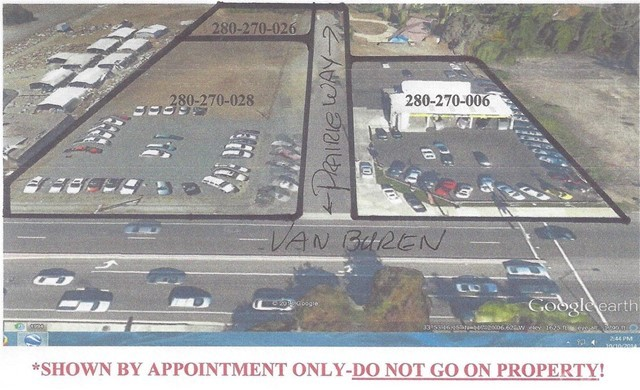 18820 Van Buren Boulevard Riverside Californie 92508 Terrain for Vente