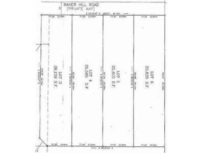 Land / Lots for sales at 43-65 Baker Hill Road  Northampton, Massachusetts 01060 United States