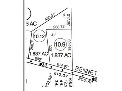 Land for sales at 0 Bennett Rd  Ashby, Massachusetts 01431 United States