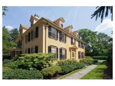 Single Family for sales at 617 Boylston St Lot 1b &1a  Brookline, Massachusetts 02445 United States
