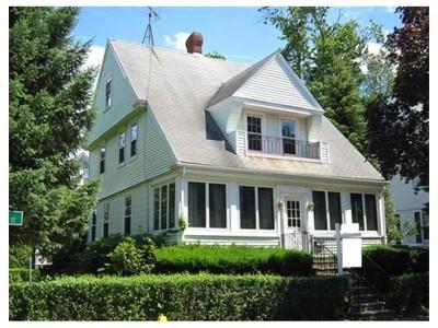 Single Family for sales at 4 Oak Street  Belmont, Massachusetts 02478 United States