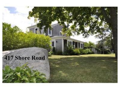 Single Family for sales at 417 Shore Rd  Bourne, Massachusetts 02559 United States