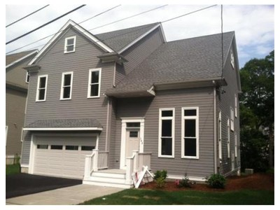 Single Family for sales at 143 Newfield Street  Boston, Massachusetts 02132 United States