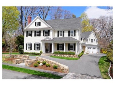 Single Family for sales at 8 Thackeray Road  Wellesley, Massachusetts 02481 United States
