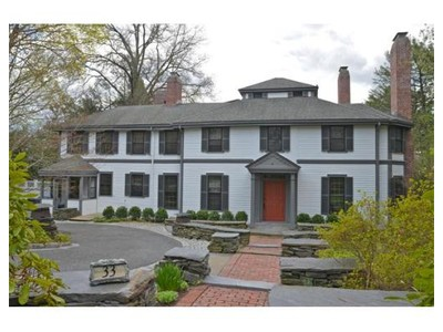 Single Family for sales at 33 Leicester St  Brookline, Massachusetts 02445 United States