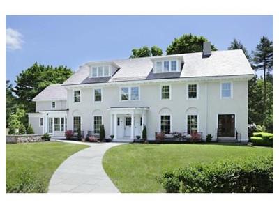 Single Family for sales at 10 Burnham Rd  Newton, Massachusetts 02465 United States