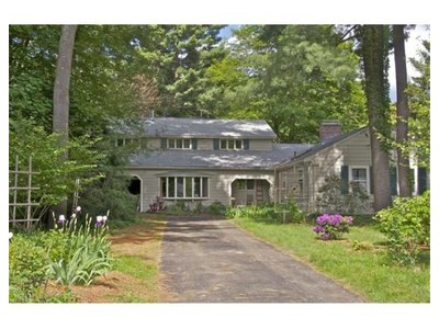 Single Family for sales at 8 Old Farm Rd  Wayland, Massachusetts 01778 United States
