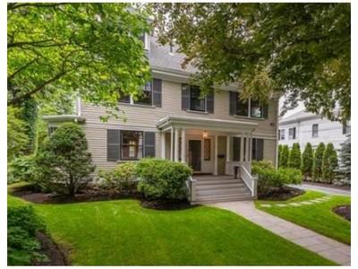 Single Family for sales at 9 Marsh Street: Precinct 1  Dedham, Massachusetts 02026 United States