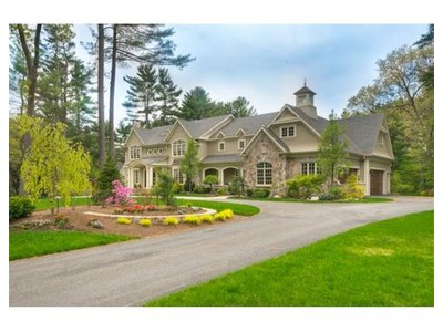Single Family for sales at 55 Livingston Road  Wellesley, Massachusetts 02482 United States