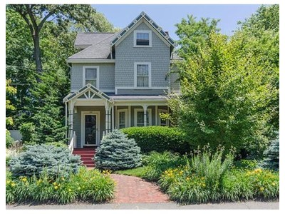 Single Family for sales at 1036 Walnut Street  Newton, Massachusetts 02461 United States