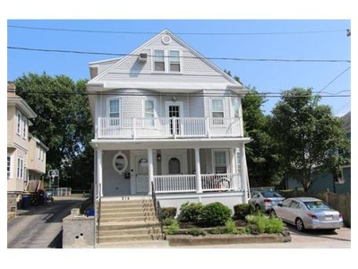 Multi Family for sales at 214 Somerset Avenue  Winthrop, Massachusetts 02152 United States