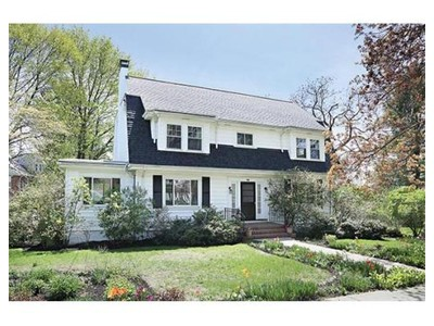 Single Family for sales at 36 Concolor Avenue  Newton, Massachusetts 02458 United States