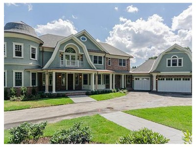 Single Family for sales at 88 Cutler Ln  Brookline, Massachusetts 02467 United States
