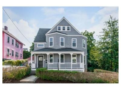 Condominium for sales at 8 Brookfield Street, # 1  Boston, Massachusetts 02131 United States