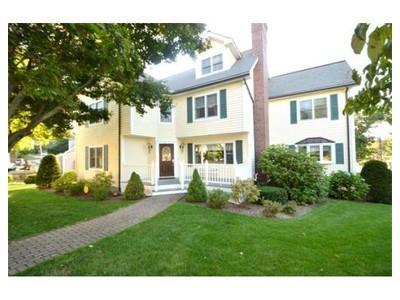 Single Family for sales at 155 Berkley Street  Waltham, Massachusetts 02451 United States