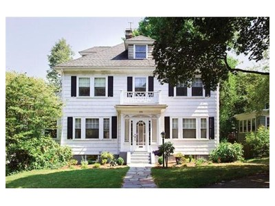 Single Family for sales at 171 Wolcott Rd  Brookline, Massachusetts 02467 United States