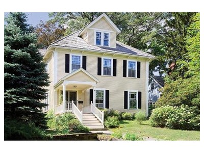 Single Family for sales at 88 Arlington St  Newton, Massachusetts 02458 United States