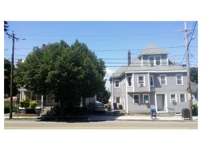 Multi Family for sales at 117-123 Independence Ave  Quincy, Massachusetts 02169 United States
