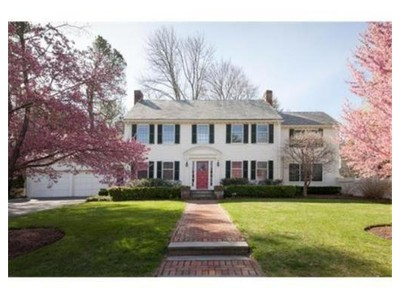 Single Family for sales at 36 Lockwood Rd  Newton, Massachusetts 02465 United States