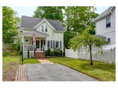 Single Family for sales at 169 Porter St  Melrose, Massachusetts 02176 United States