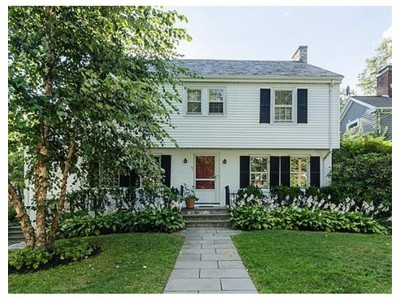 Single Family for sales at 39 Ellison Road  Newton, Massachusetts 02459 United States