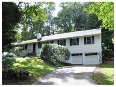 Maison unifamiliale for sales at 15 Old Coach Road   Weston, Massachusetts 02493 États-Unis