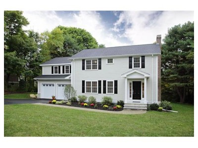 Single Family for sales at 436 North Ave  Weston, Massachusetts 02493 United States