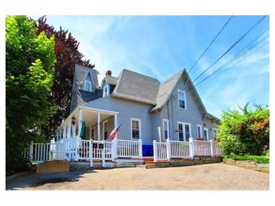 Multi Family for sales at 22-24 Jackson Terrace  Newton, Massachusetts 02458 United States