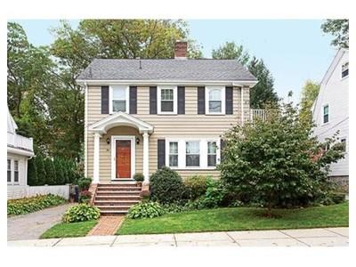 Single Family for sales at 84 Martin St  Boston, Massachusetts 02132 United States