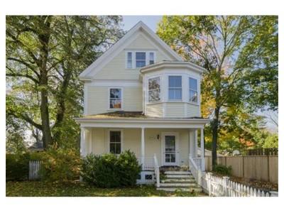 Single Family for sales at 1 Oakland St  Lexington, Massachusetts 02420 United States