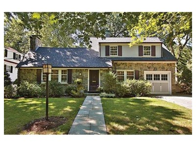 Single Family for sales at 24 Nickerson Rd  Newton, Massachusetts 02467 United States