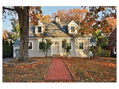 Single Family for sales at 63 Garland Road  Newton, Massachusetts 02459 United States
