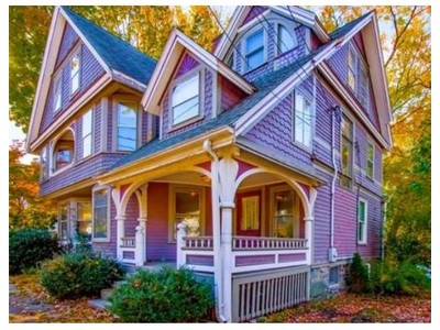 Single Family for sales at 131 Charlesbank Road  Newton, Massachusetts 02458 United States