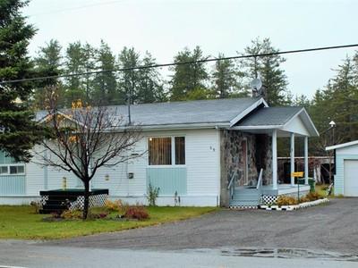 Bungalow for a-vendre at 49 Boul. Martel  Saint David De Falardeau, Quebec G0V 1C0 Canada