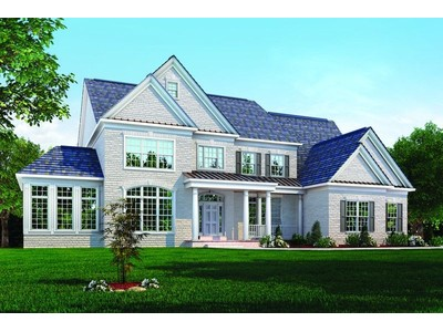 Single Family for sales at Classic Homes Of Maryland - Custom Build On Your Lot (Bethes - The Hampton Ii  Bethesda, Maryland 20817 United States