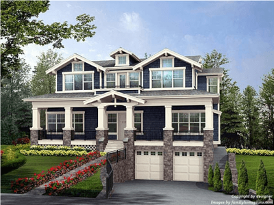 Single Family for sales at Classic Homes Of Maryland - Custom Build On Your Lot (Bethes - The Rosedale  Bethesda, Maryland 20817 United States