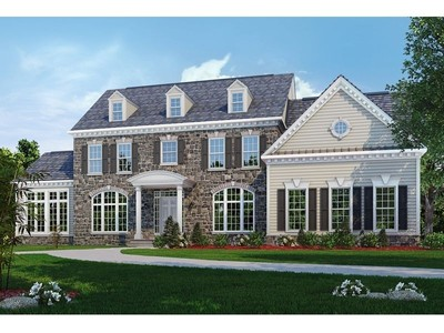 Single Family for sales at Classic Homes Of Maryland - Custom Build On Your Lot (Bethes - The Kingsmill Ii  Bethesda, Maryland 20817 United States