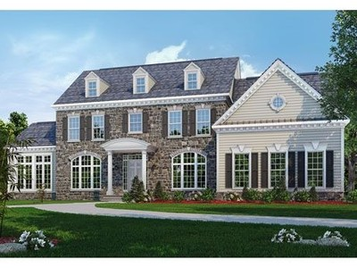 Single Family for sales at Classic Homes Of Maryland - Custom Build On Your Lot (Bethes - The Kenwood  Bethesda, Maryland 20817 United States