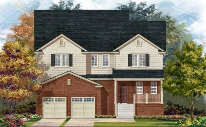Single Family for sales at Middletown Woods - Plan 2740 Modeled 3168 Alsfeld Way Waldorf, Maryland 20603 United States