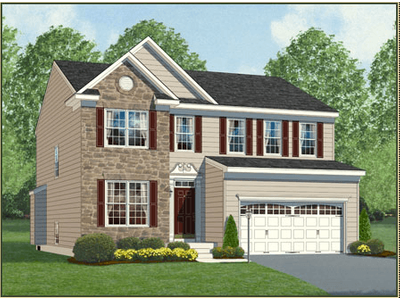 Single Family for sales at Stonepointe - The Dayton 7805 Silver Moon Court Severn, Maryland 21144 United States